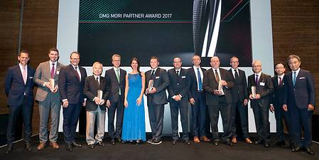 Partner Award 2017 DMG MORI